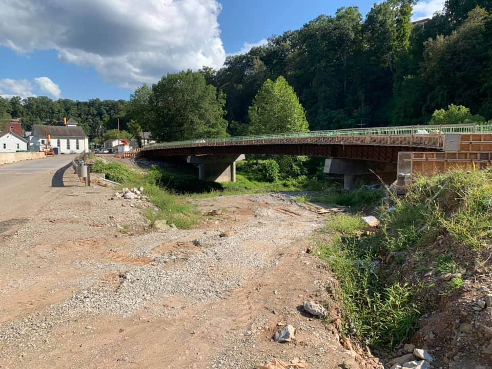 Cairo,WV Rt. 31 Bridge, Progress 2019