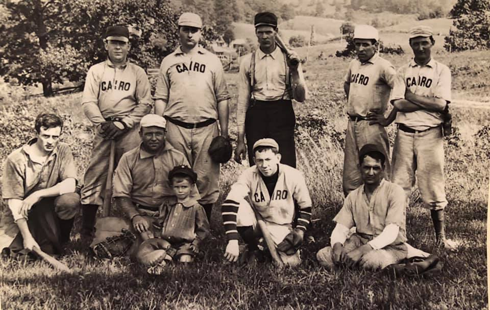 Cairo Baseball Team Photo