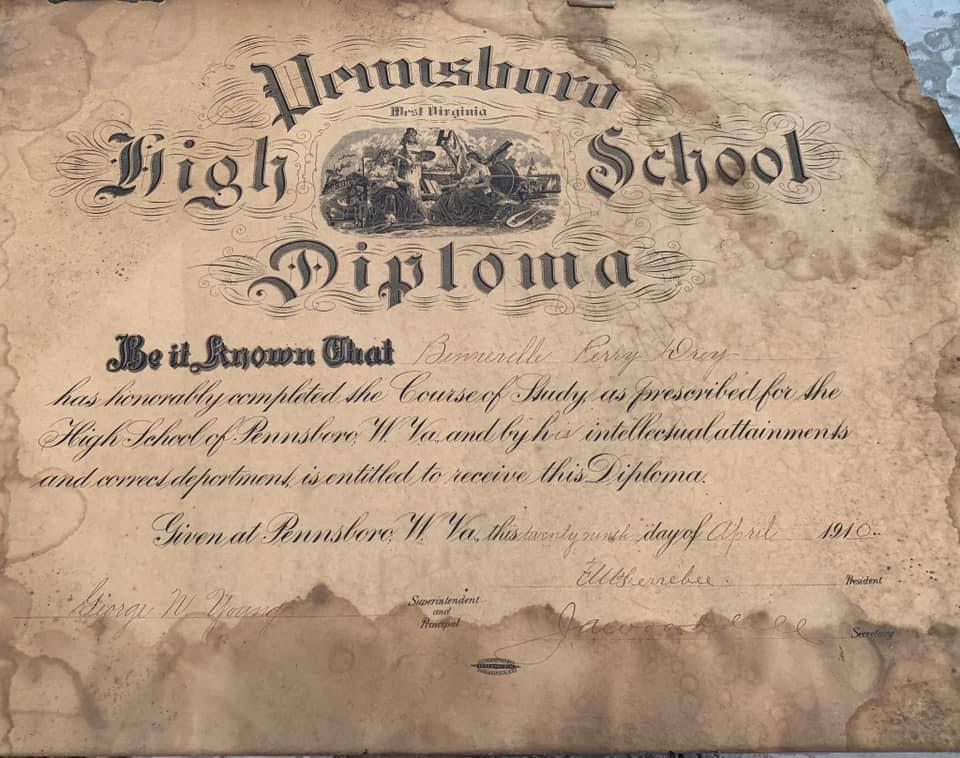Pennsboro High School Diploma Cairo, WV